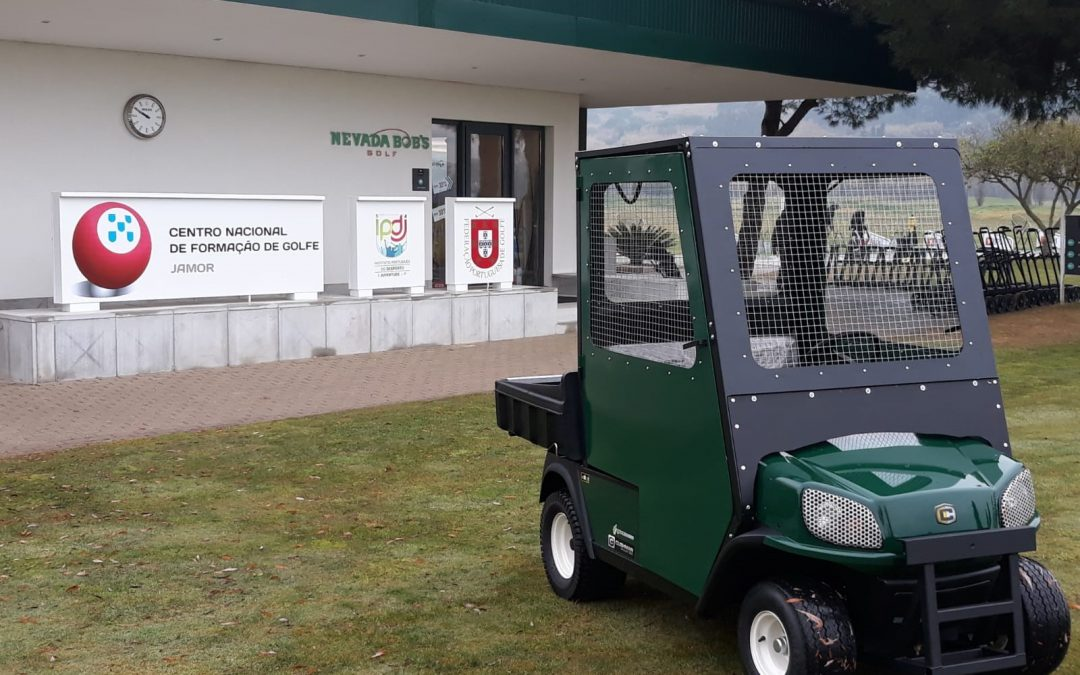 Green Mowers Portugal entrega 25 EZGO RXV